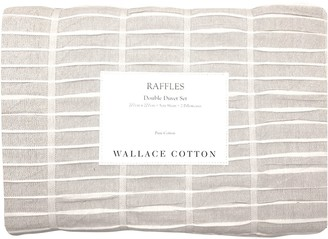 Wallace Cotton Raffles Duvet Set King