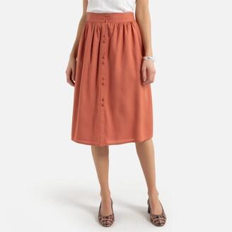 Anne Weyburn Mid-Length Straight Skirt