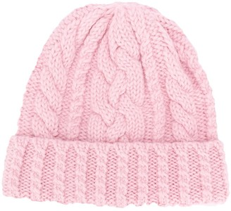 Ami Cable Knit Beanie
