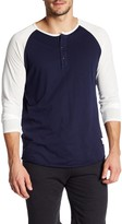 Kinetix Prague Colorblock Henley Tee