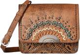 American West Bella Luna Multi-Compartment Crossbody Flap Bag Cross Body Handbags