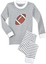 Sara's Prints Boys' Glow-in-the-Dark Football Pajama Shirt & Pants Set