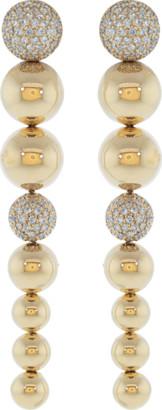 Carla Amorim Diamond Pave Centipede Earrings