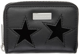 Stella McCartney Black Mini Stars Wallet
