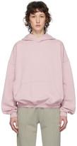 Haider Ackermann SSENSE Exclusive Pink Cotton Hoodie
