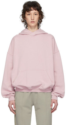 Haider Ackermann SSENSE Exclusive Pink Cotton Hoodie