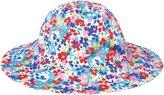Jo-Jo JoJo Maman Bebe Floppy Sun Hat (Baby) - Bright Floral-0-6 Months
