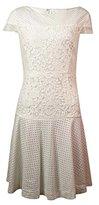 Betsey Johnson Women's Illusion Texture Knit Dress