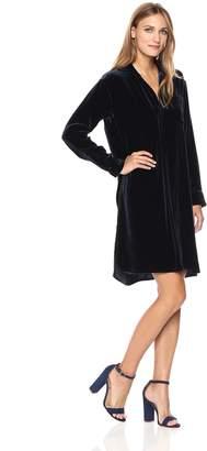 Vince Women's Velvet Shirt Dress