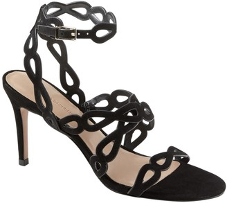 Banana Republic Laser-Cut High Heel Sandal