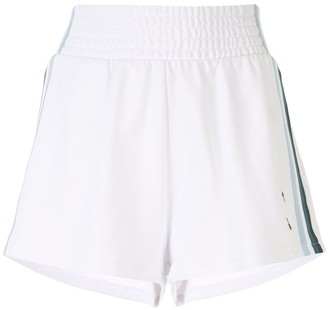 The Upside Striped Track Shorts