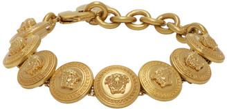 Versace Gold Tribute Medusa Bracelet