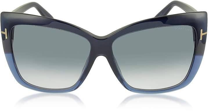d93459776f57e Tom Ford Oversized Sunglasses - ShopStyle UK