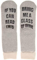 Mix No. 6 Send Wine Slipper Socks - Women's