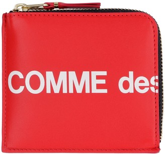 Comme des Garcons Leather Zipped Coin Purse