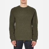 Carhartt Rib Sweatshirt Cypress Heather