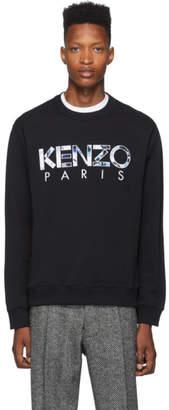 Kenzo Black Classic Paris Sweatshirt
