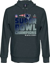 Majestic NFL New England Patriots Super Bowl Champion Hoody Hoodie Mens