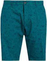 J.w.brine J.W. BRINE Leaf-print cotton shorts