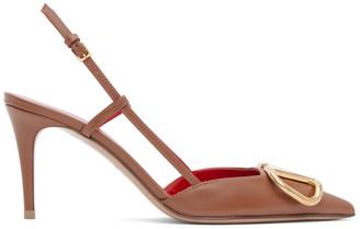 Valentino Tan Garavani VLogo Slingback Heels