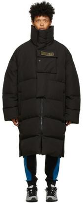 A. A. Spectrum Black Down Winter Coat
