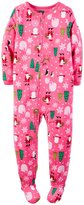 Carter's Footie (Toddler/Kid) - Santa-4T