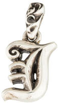 Chrome Hearts Sterling 'I' Initial Pendant