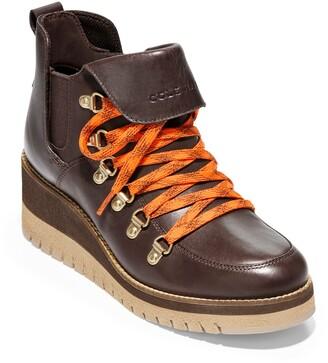 Cole Haan Zerogrand Waterproof Wedge Boot
