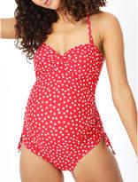 George Maternity Spot Print Swimsuit