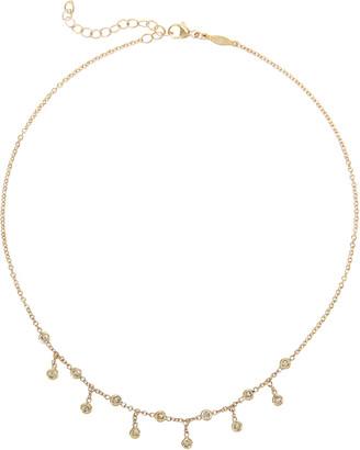 Jacquie Aiche Half Shaker Diamond Necklace