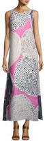 Nic+Zoe Sungrove Georgette Printed Long Dress
