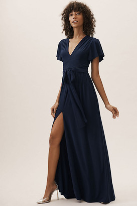 BHLDN Mendoza Dress By in Blue Size 22