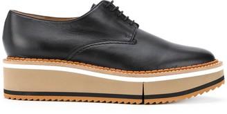 Clergerie Lace-Up Platform Shoes