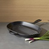 Crate & Barrel Le Creuset ® Signature Licorice Oblong Grill Pan