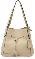 Persaman New York Nellie Leather Tote Bag