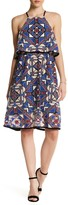 Ella Moss Geo Net Midi Dress