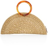Poolside The Amy Straw Clutch