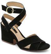 Kensie Edonia Crisscross Suede Sandals
