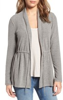 Cupcakes And Cashmere Women's Nero Tie Front Cardigan