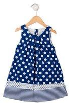 Jacadi Girls' Polka Dot Sleeveless Dress