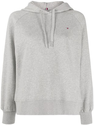 Tommy Hilfiger Logo Back Embroidered Hoodie