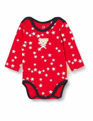 Steiff Baby Girls' Mit Suer teddybarapplikation Body Long Sleeve