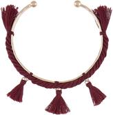 Accessorize Boho Multi Tassel Bangle Bracelet