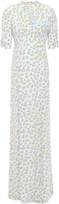 By Ti Mo Bytimo Floral-print Crepe Maxi Dress