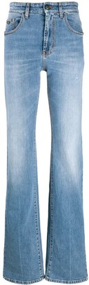 Palm Angels Indaco flared jeans