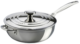 Le Creuset 3.5QT. Saucier Pan with Lid & Helper Handle
