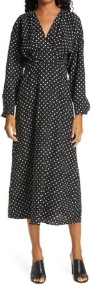 Rachel Comey Renwick Long Sleeve Midi Dress
