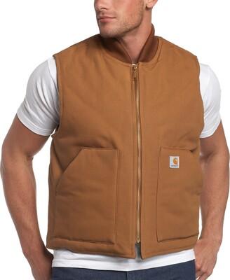 Carhartt Men's Arctic-Quilt Lined Duck Vest (Regular and Big & Tall Sizes)