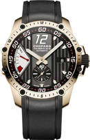 Chopard Superfast Power Control 18ct rose-gold watch, Mens, stainless steel