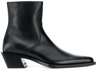 Balenciaga Tiaga zip-up boots